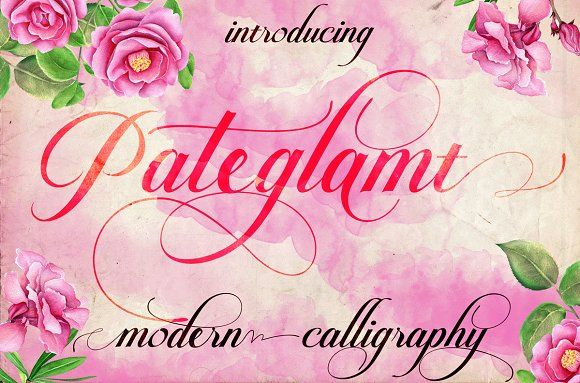 Pateglamt Script by iTypeface on @creativemarket