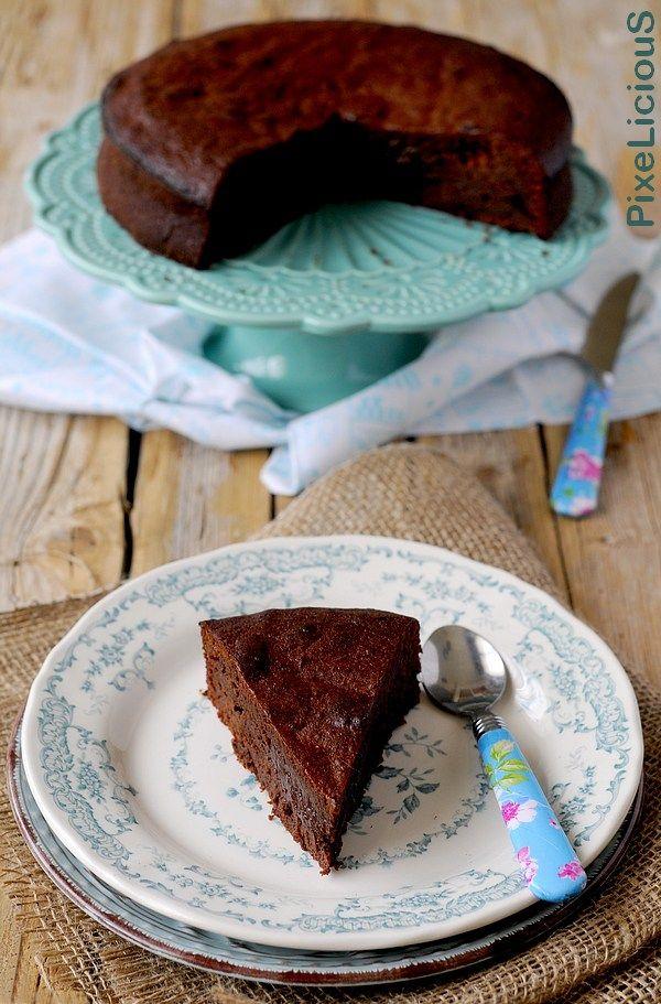 Torta Morbida al Cioccolato di Modica #calendargirls di PixeLiciouS  #cioccolatodimodica