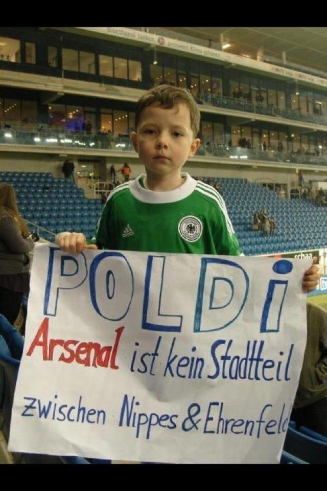 Genau Poldi!