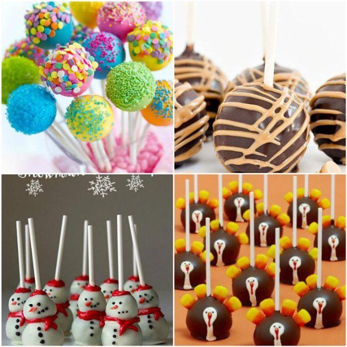 Кейк-попсы (Cake Pops) - пошаговые фото и видео рецепты