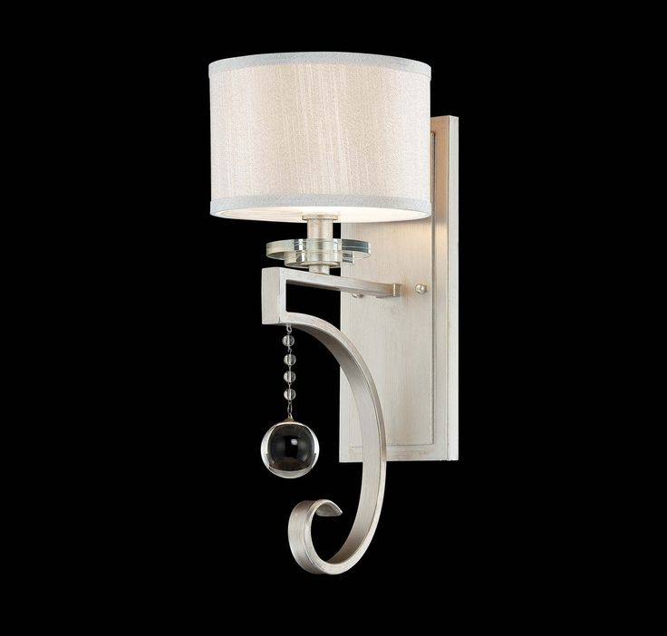 Bathroom Light Fixtures With Fabric Shades 93 best sconces images on pinterest | candle wall sconces, wall