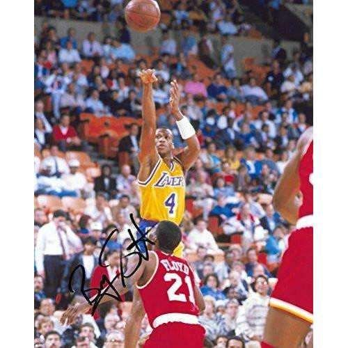 Byron Scott, Los Angeles Lakers, LA Lakers, Signed, Autographed, 8x10 Photo, a Coa with the Proof Photo of Byron Signing Will Be Included