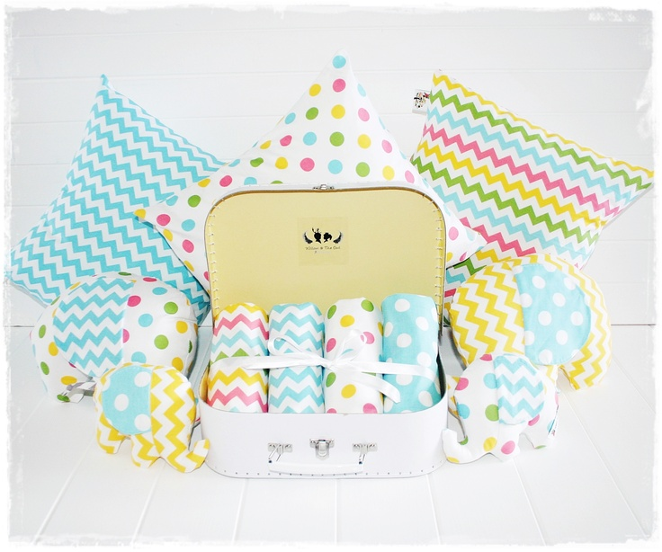 Willow & The Owl nursery linen range fitted cot sheets ~ Sunshine Lollipops