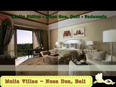 Mulia Villas - Nusa Dua, Bali, Indonesia - YouTube