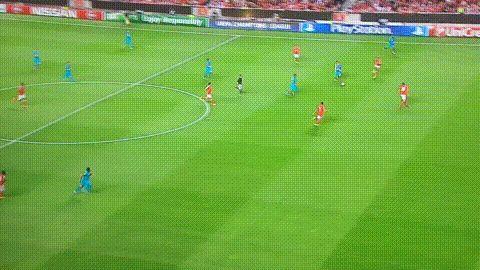 SL Benfica 0-1 Zenit Saint Petersburg: Hulk goal