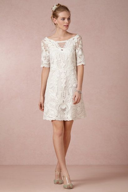 Yoana Baraschi ivory Vienna Dress | BHLDN