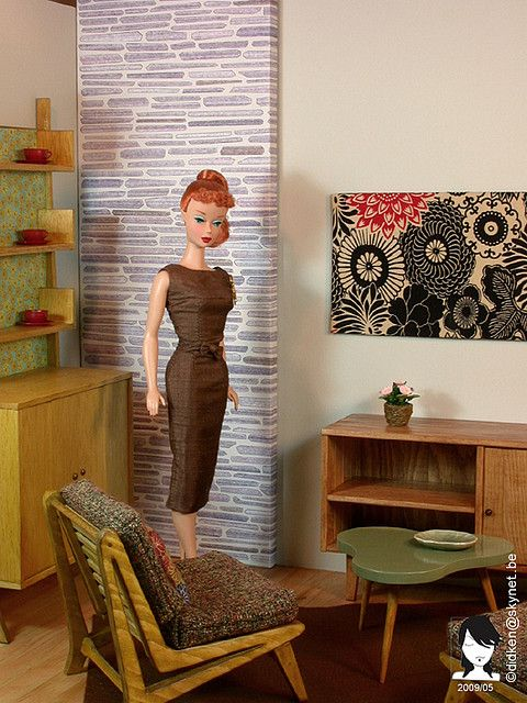Barbie Diorama Furniture | Dioramas - a gallery on Flickr
