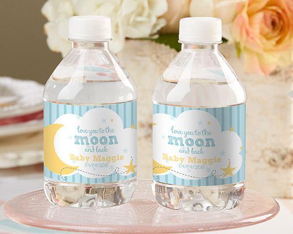 17 Best Baby Shower Water Bottle Labels Images On Pinterest Custom