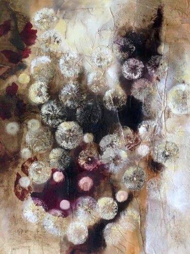 """Serie """"Conexiones creativas"""", 60*50, óleo sobre papel"""