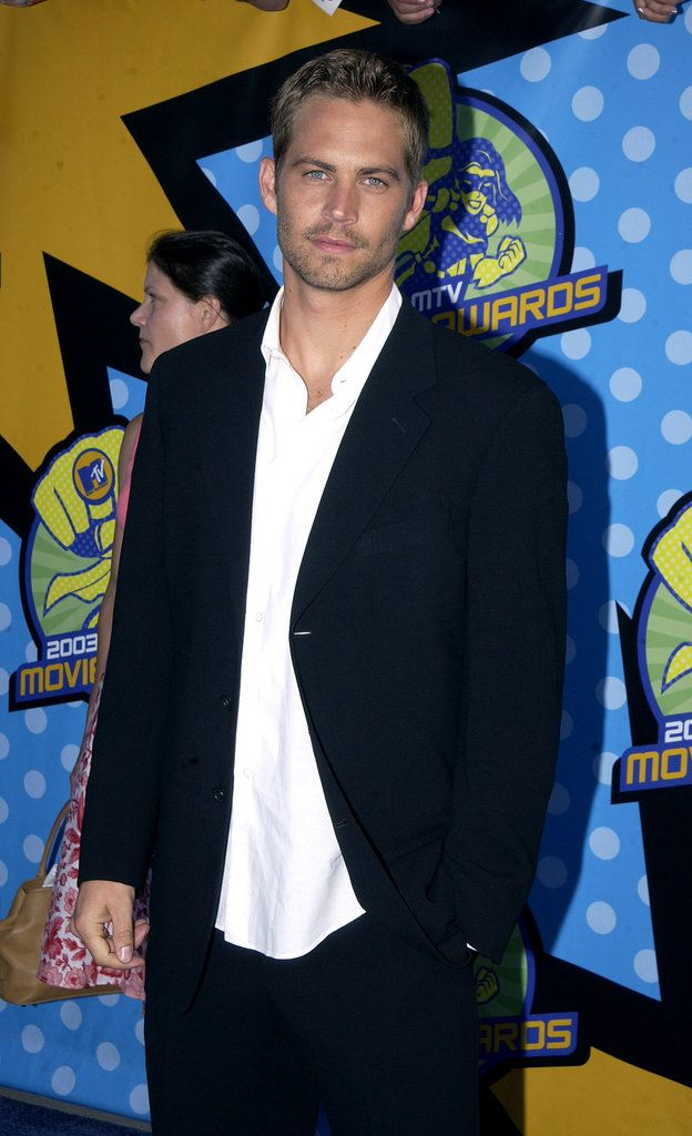 Paul walked the red carpet at the MTV Movie Awards in May 2003. | Look Back at Paul Walker's Best Hollywood Moments | POPSUGAR Celebrity