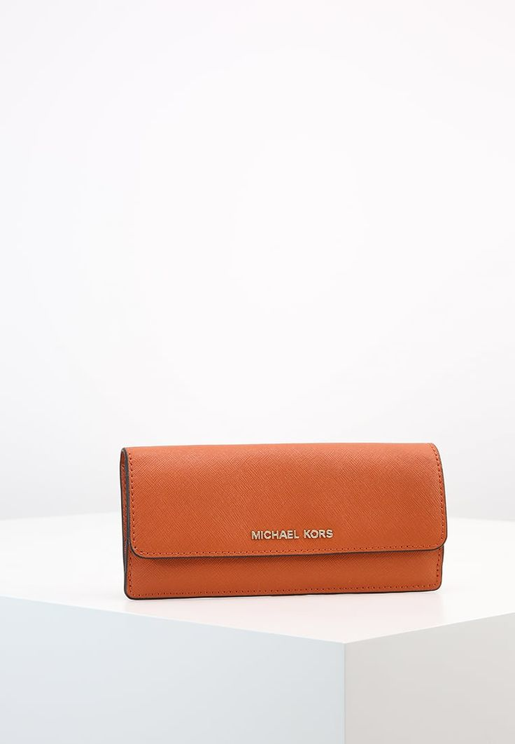 MICHAEL Michael Kors JET SET TRAVEL - Lompakko - orange - Zalando.fi