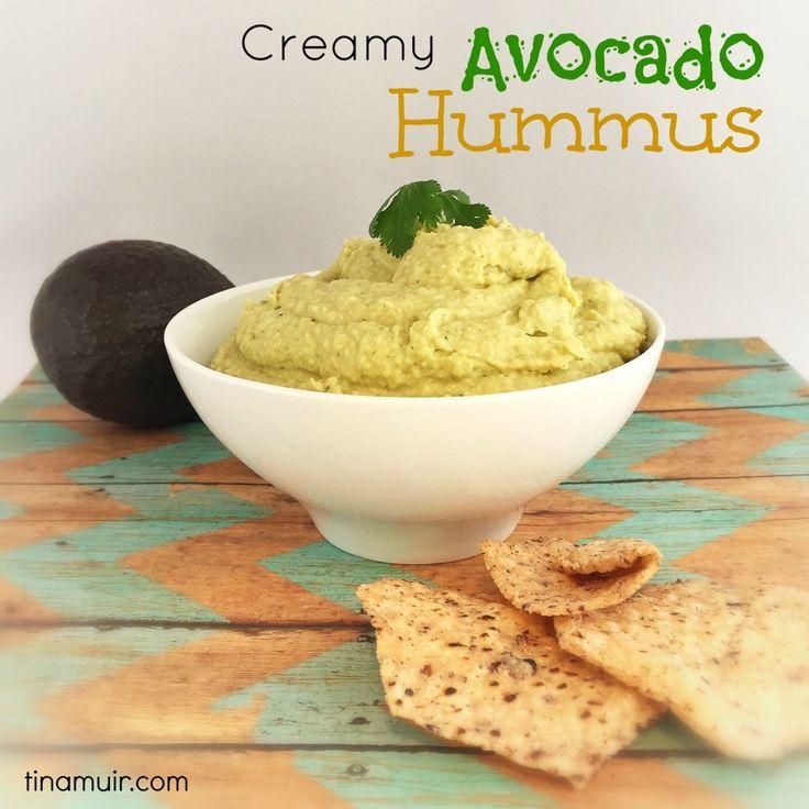 Avocado hummus, Hummus and Avocado on Pinterest