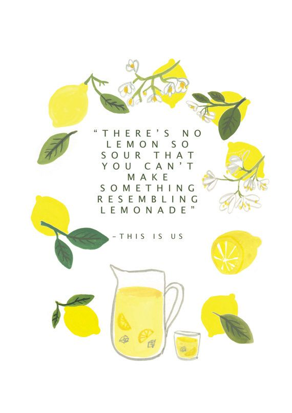 Theres' no lemon so sour you can't make by TheEmilyWatkins on Etsy
