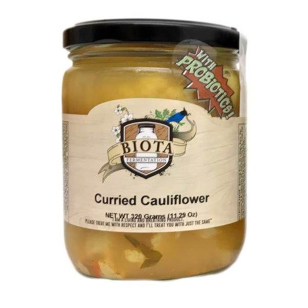 Biota Fermentation Curry Cauliflower - 500ml