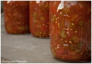 Stewed Tomatoes - from the Ball Blue Book Guide to Home Canning, Freezing, and Dehydration
