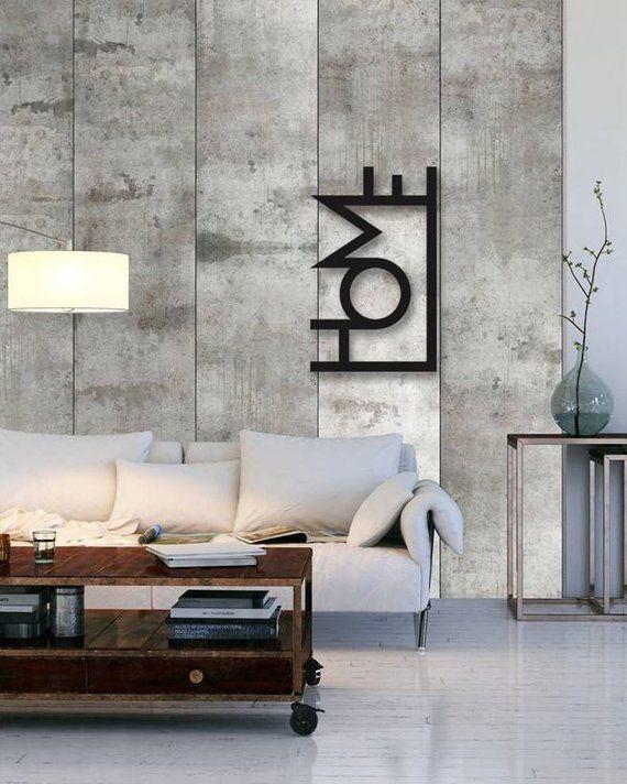 Rustic Metal Wall Decor, Rustic Wall Sconces, Metal Wall Art - wohnzimmer tapeten braun beige