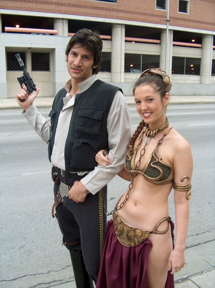 Christy Marie as Princess Leia Slave Cosplay
