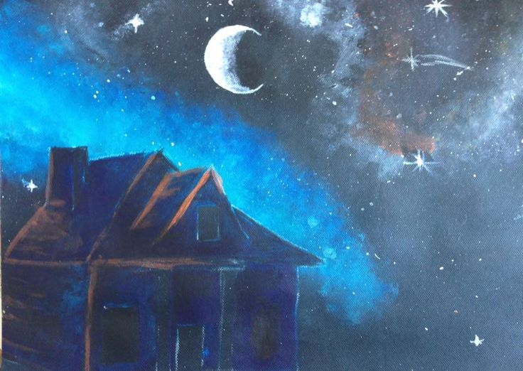 Jayme Marsh Year 9 Skyscape Painting