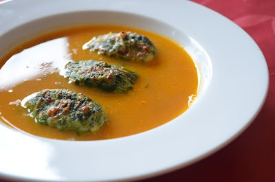 Baked Malfatti dipped Shorba | Low Carb Food | Pinterest