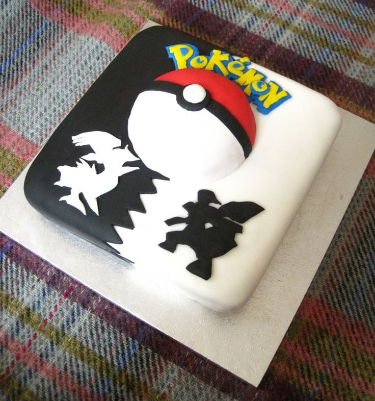 1000+ images about cake ideas on Pinterest | Pokemon Birthday Cake ...