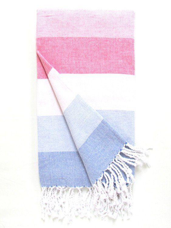 St. Tropez Hammam Towel, Multi Coloured £19
