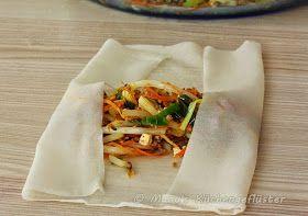 Frühlingsrollen thailändische Art #Rezept #lecker