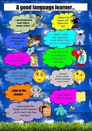 A good language learner ....