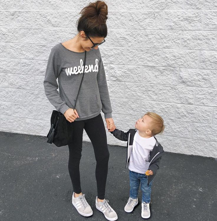 Mommy and Braden swag