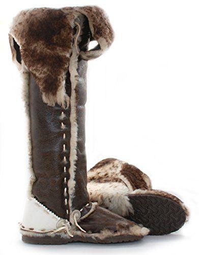 malibu coWboy Women's CHER X TALL Boots, Antique Brown, 8 ...