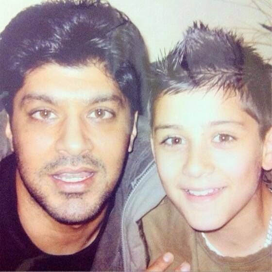 Little Zayn and his dad ♥