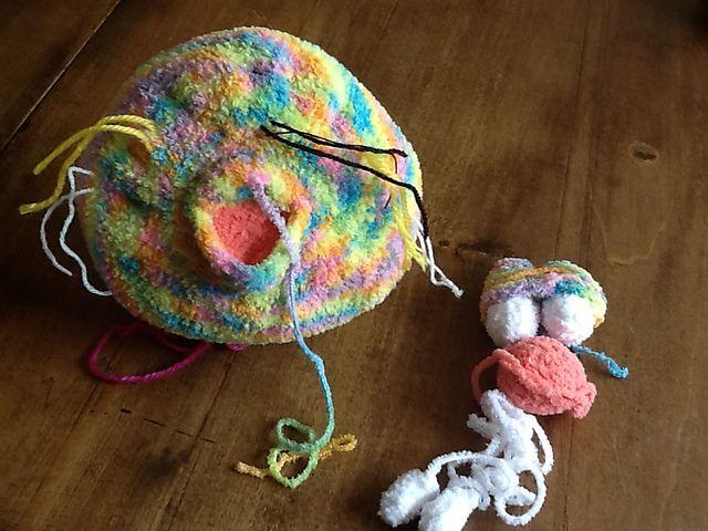 Revelry: Yvonne2104's CAL Dude Rabbit 121 Rabbit dude crochet pattern from LittleOwlsHut  was used to make this guy.