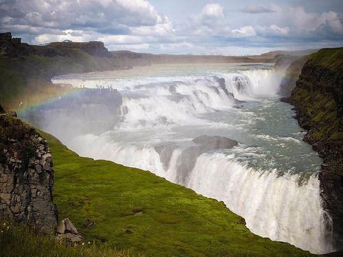 Gullfoss waterfall 3