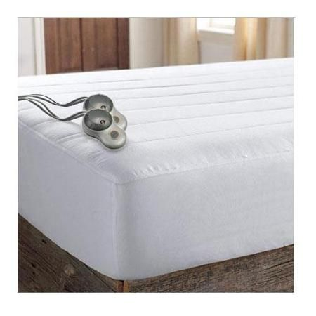 Sunbeam Quilted Striped Heated Electric Mattress Pad Twin Full Queen King  C-King - Best 20+ Mattress Pad Queen Ideas On Pinterest Comfortable