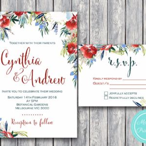 Pink Floral Engagement Party Invitation and RSVP card #babyshowerideas4u #birthdayparty  #babyshowerdecorations  #bridalshower  #bridalshowerideas #babyshowergames #bridalshowergame  #bridalshowerfavors  #bridalshowercakes  #babyshowerfavors  #babyshowercakes
