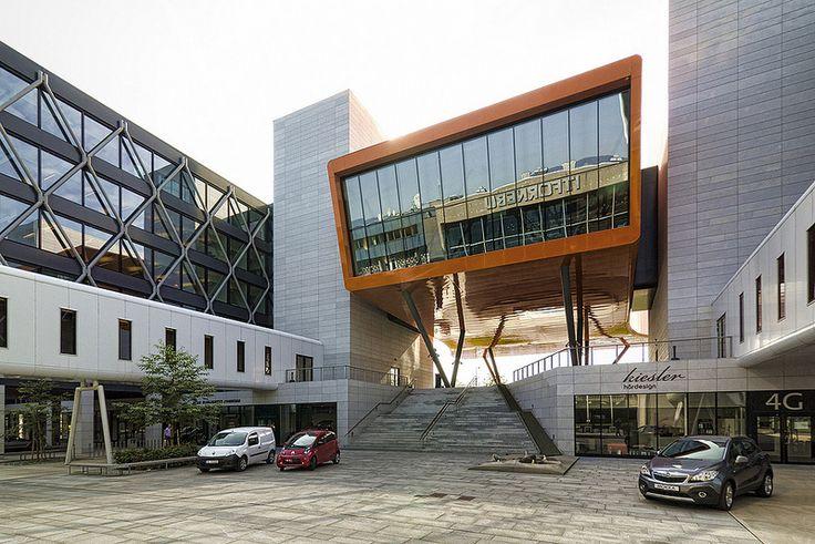 IT-Fornebu Portal Building designed by A-lab. Oslo.