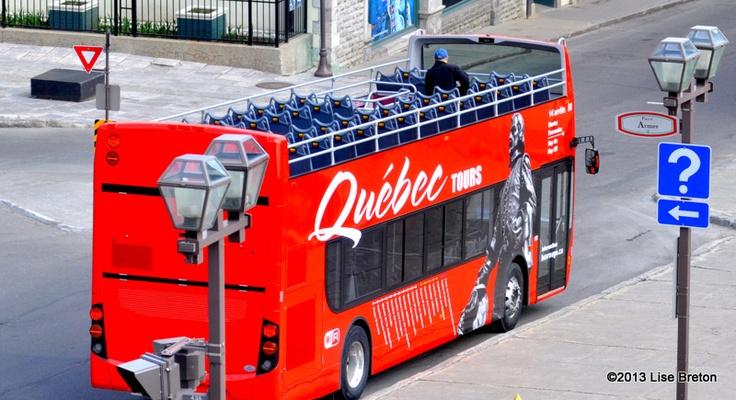 Le Bus Rouge Samuel de Champlain