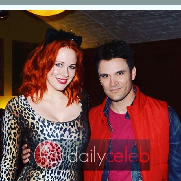 Maitland Ward, Kash Hovey at Halloween Hotness 4: Heating Up For The Cure, American Legion Hall, Hollywood, CA 10-15-17 David Edwards/DailyCeleb.Com 818-249-4998