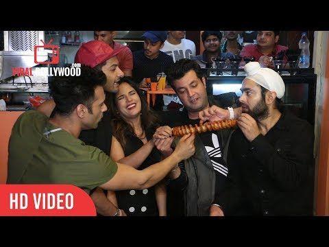 Fukrey Returns Team At VJ Cafe | Pulkit Samrat Varun Sharma  Ali Fazal Richa Chadda Manjot Singh