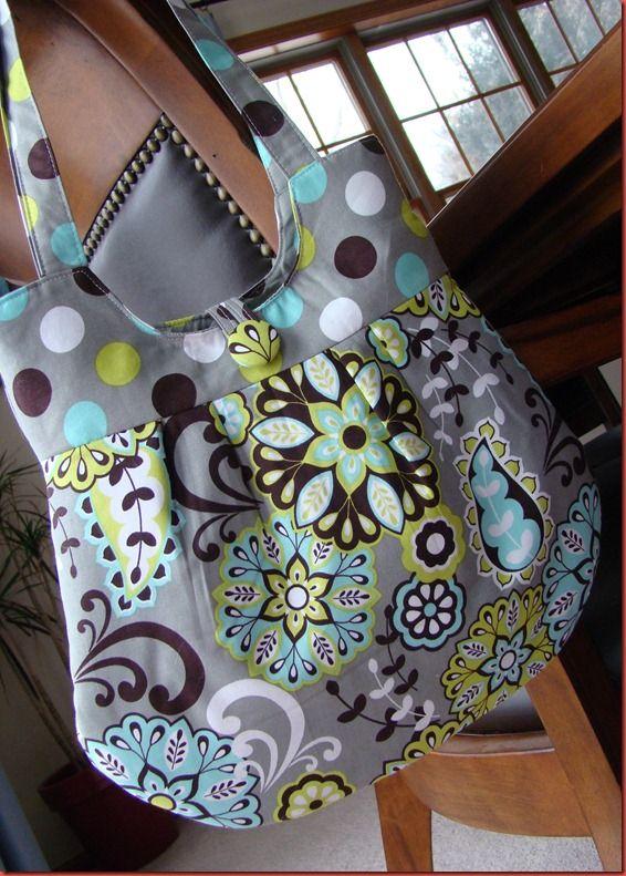 Handmade Bag - Love the fabric!