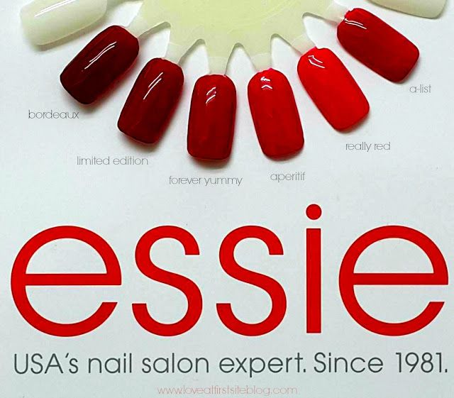 Love At First Site: Pick a Red! Any... Essie Red! #essielove #essiereds #redscollection #swatches