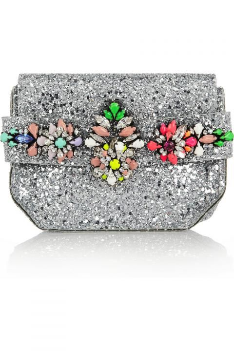 Embellished Clutches / Wedding Style Inspiration / LANE. See our favourite styles to shop online here: http://thelane.com/the-guide/fashion/accessories/embellished-clutches (instagram: the_lane)