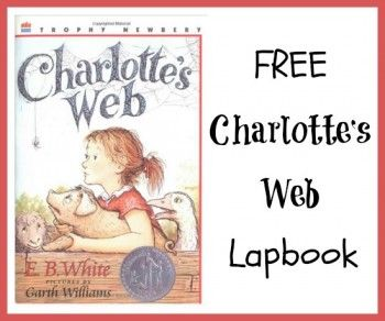 Free Charlotte's Web Lapbook #lapbook