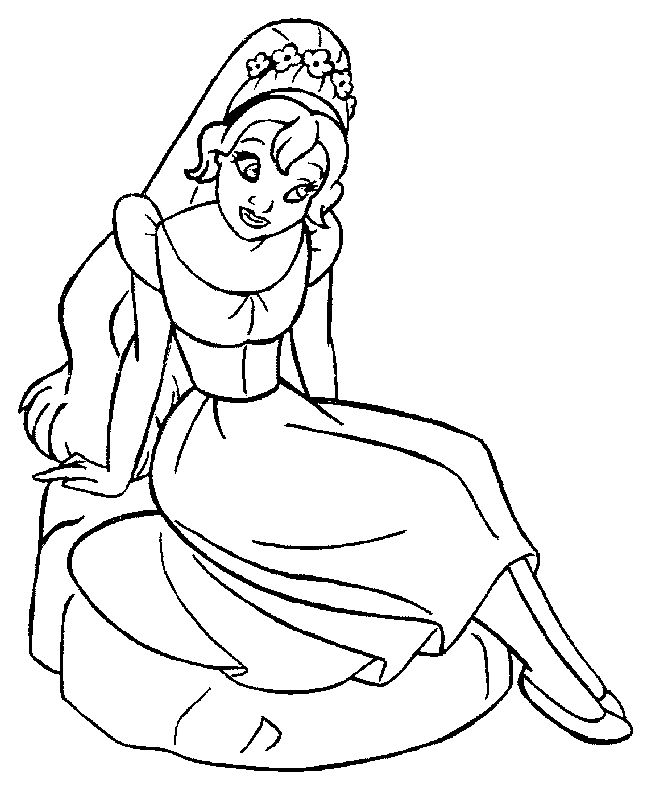 37 best thumbelina images on pinterest activities, daughter Monster High Coloring Pages Barbie Coloring Sheets to Print Out dltk coloring pages