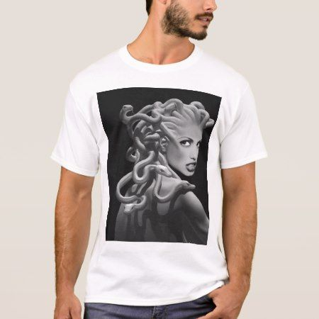 Medusa Simplified T-Shirt - click/tap to personalize and buy
