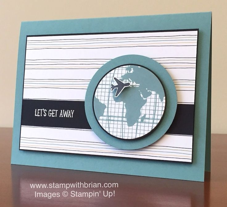 Let's Get Away, Going Global, Stampin' Up!, Brian King, PP283, CYCI108