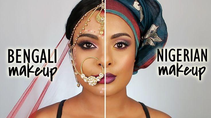 Nigerian Makeup Vs. Bengali Bridal Makeup