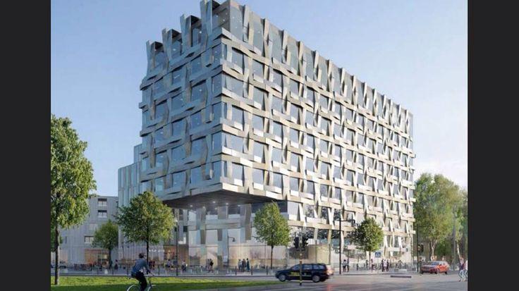 Skanska planerar hotell och kanske kontor mittemot Pressbyrån vid resecentrum på Norra Promenaden.