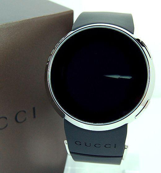 Gucci Men?s Watches Go Digital [Fancy Schmancy]