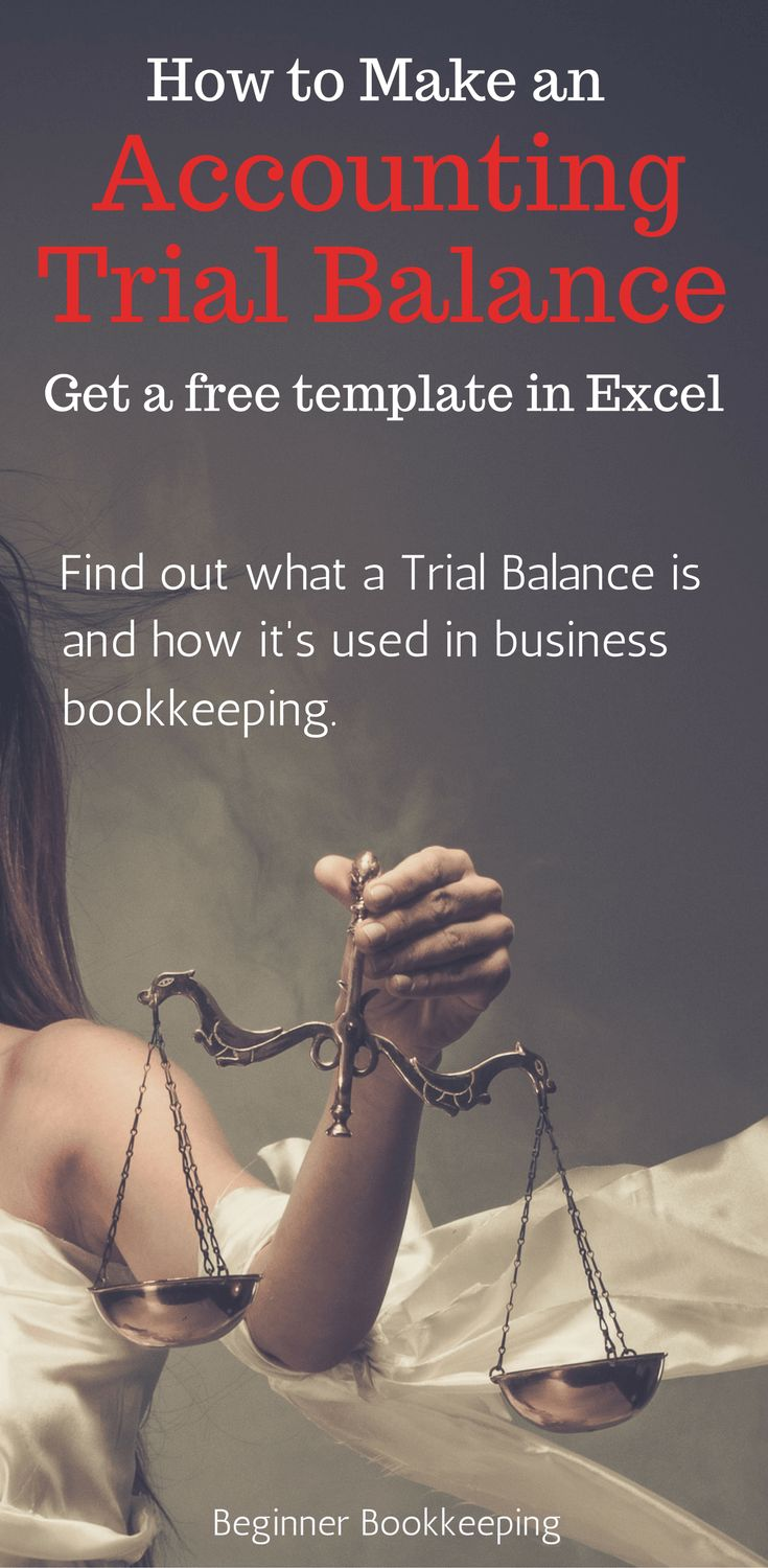 What is a trial balance used for in bookkeeping / accounting? Access a template and learn how to make a trial balance.