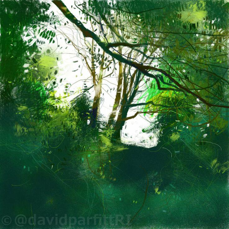 iPad sketch using Procreate. www.davidparfitt-art.co.uk @davidparfittRI
